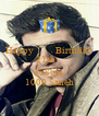 Happy          Birthday 21th     3o8bal  1000 Saneh - Personalised Poster A4 size