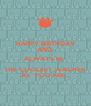 HAPPY BIRTHDAY AND  ALWAYS BE  THE COOLEST TEACHER  AS  YOU ARE... - Personalised Poster A4 size