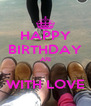 HAPPY BIRTHDAY ARI  WITH LOVE - Personalised Poster A4 size