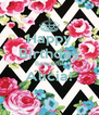 Happy Birthday Beautiful Alicia!  - Personalised Poster A4 size