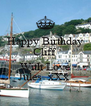 Happy Birthday Cliff  With Love Jules  xXx  - Personalised Poster A4 size