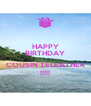 HAPPY BIRTHDAY  COUSIN TELEATHER !!!!! - Personalised Poster A4 size
