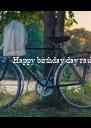 Happy birthday day rashmi ...... - Personalised Poster A4 size