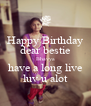 Happy Birthday dear bestie Bhavya have a long live luv u alot - Personalised Poster A4 size