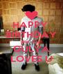 HAPPY  BIRTHDAY dear Zayn GULYA LOVES U - Personalised Poster A4 size