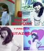 HAPPY  BIRTHDAY FANESYA KITAZAGI  - Personalised Poster A4 size