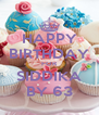 HAPPY BIRTHDAY FOR SIDDIKA BY 63 - Personalised Poster A4 size