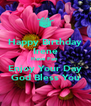 Happy Birthday Irene Have Fun  Enjoy Your Day God Bless You - Personalised Poster A4 size