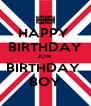 HAPPY  BIRTHDAY JON  BIRTHDAY  BOY - Personalised Poster A4 size