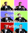 Happy Birthday  Kıvanç Tatlıtuğ - Personalised Poster A4 size