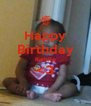 Happy Birthday Kamile <3  - Personalised Poster A4 size