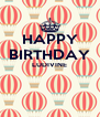 HAPPY BIRTHDAY LUDIVINE   - Personalised Poster A4 size