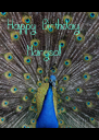Happy Birthday Marysol! - Personalised Poster A4 size