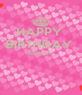 HAPPY  BIRTHDAY  NEIMAH    - Personalised Poster A4 size