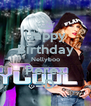 Happy Birthday Nellyboo Perez =D - Personalised Poster A4 size