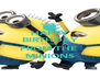 HAPPY BIRTHDAY Pravins FROM THE  MINIONS - Personalised Poster A4 size