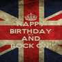 HAPPY BIRTHDAY RITA AND ROCK ON! - Personalised Poster A4 size