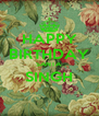 HAPPY BIRTHDAY SANTA SINGH  - Personalised Poster A4 size