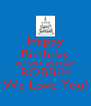 Happy Birthday Stay Coll & Oh So Cute ROBBIN We Love You! - Personalised Poster A4 size