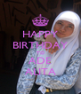 HAPPY BIRTHDAY TO ADE ALITA - Personalised Poster A4 size