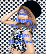 Happy Birthday To Kim Hyoyeon - Personalised Poster A4 size