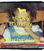 Happy  Birthday  To My Beautiful Joelle  Birchmeier  - Personalised Poster A4 size