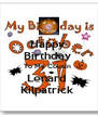 Happy  Birthday  To My Cousin  Lenard  Kilpatrick  - Personalised Poster A4 size