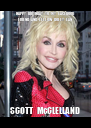 HAPPY  BIRTHDAY  TO  MY  FACEBOOK   FRIEND  AND  FELLOW  DOLLY  FAN SCOTT  McCLELLAND - Personalised Poster A4 size