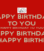 HAPPY BIRTHDAY TO YOU HAPPY BIRTHDAY TO YOU HAPPY BIRTHDAY  DEAR FRED... HAPPY BIRTHDAY TO YOU! - Personalised Poster A4 size