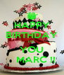 HAPPY BIRTHDAY TO  YOU    MARC !! - Personalised Poster A4 size