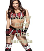 happy cute brande miss tamala - Personalised Poster A4 size
