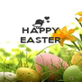 HAPPY EASTER    - Personalised Poster A4 size