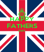 HAPPY FATHERS DAY   - Personalised Poster A4 size