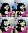 HAPPY FUCKIN 15th BIRTHDAY SANIA ELSA - Personalised Poster A4 size