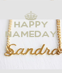 HAPPY NAMEDAY    - Personalised Poster A4 size
