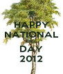 HAPPY NATIONAL TREE DAY 2012 - Personalised Poster A4 size