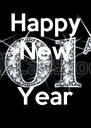 Happy New  Year  - Personalised Poster A4 size