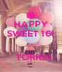 HAPPY SWEET 16!     TORRIN - Personalised Poster A4 size