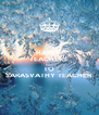 HAPPY  TEACHERS  DAY TO SARASVATHY TEACHER - Personalised Poster A4 size