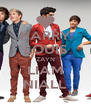 HARRY LOUIS ZAYN LIAM NIALL - Personalised Poster A4 size