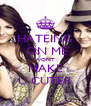 HATEING  ON ME WONT MAKE U CUTER - Personalised Poster A4 size