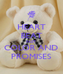 HEART BEAT FAST COLOR AND PROMISES - Personalised Poster A4 size