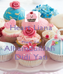 Heart Liana  Thank You Alhamdullilah  Didi Yati - Personalised Poster A4 size