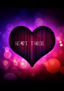 HEART THROB - Personalised Poster A4 size