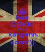 hee COKK! akuuu kangenn konn:')) - Personalised Poster A4 size