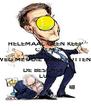 HELEMAAL GEEN KEEP CALM WEG MET DIE MARK RUTTEN  DE BESCHUIT LUL - Personalised Poster A4 size