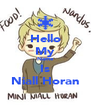 Hello My Name Is Niall Horan - Personalised Poster A4 size