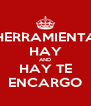 HERRAMIENTA HAY AND HAY TE ENCARGO - Personalised Poster A4 size