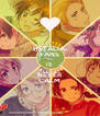 HETALIA  FANS IS NEVER CALM - Personalised Poster A4 size
