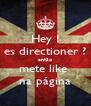 Hey ! es directioner ? então mete like   na página  - Personalised Poster A4 size